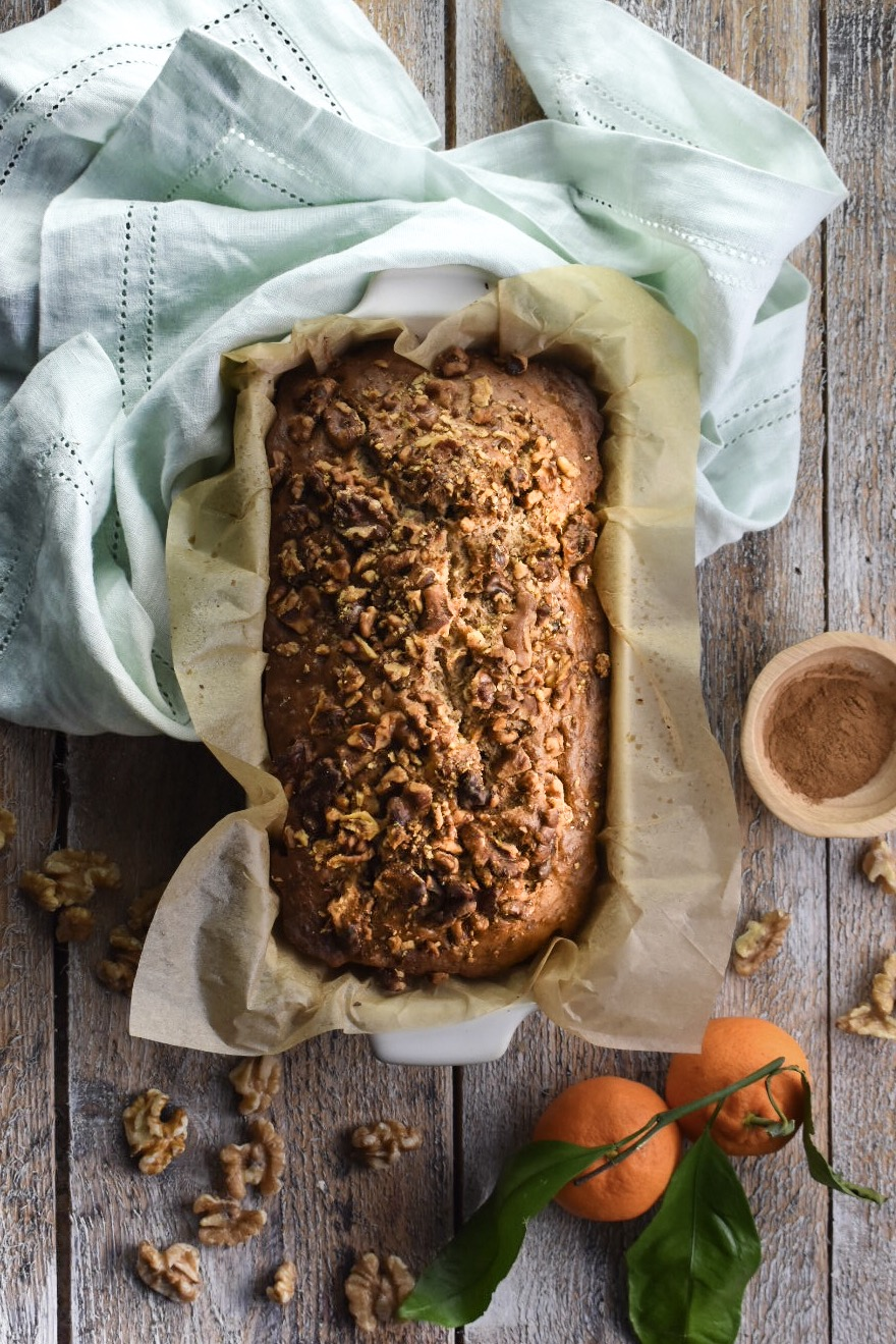 citrus spice banana bread