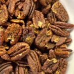 sweet and spicy toasted pecans