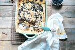 blueberry crumb kuchen
