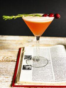 Cranberry Bourbon Sour