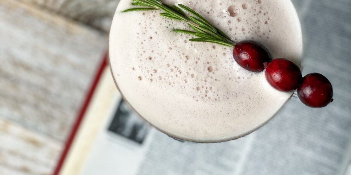 bourbon cranberry sour