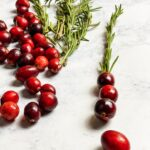 Cranberries & rosemary