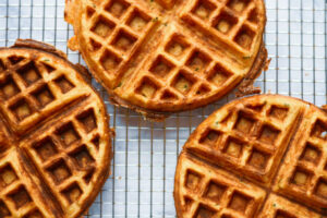 Chive Waffles