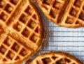 Cheddar Chive Waffles