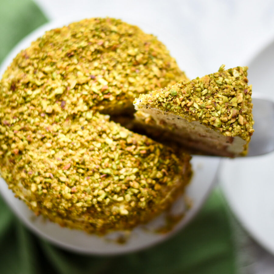 Pistachio Layer cake