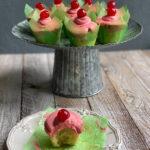 Cherry Limeade Cupcakes
