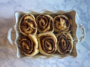 raised cinnamon rolls