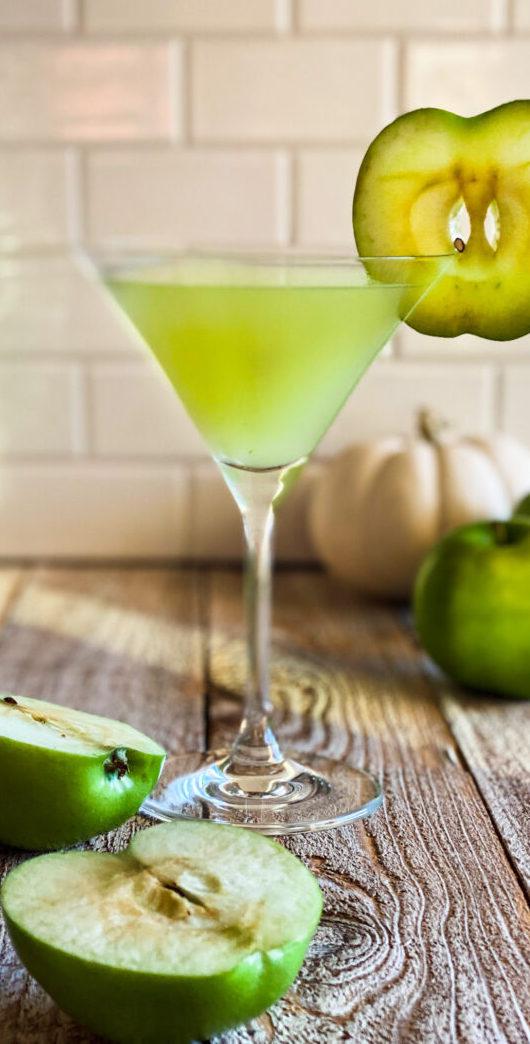 green apple martini