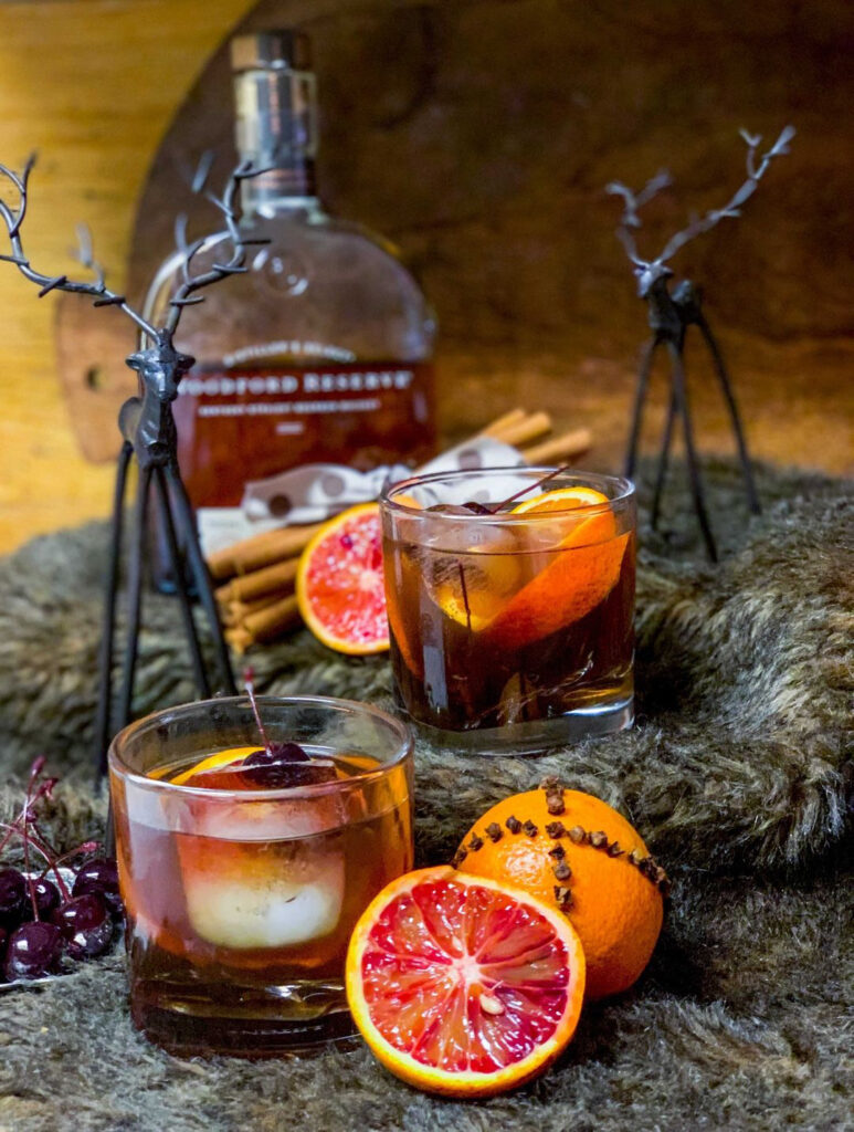 Winter Spiced Old Fashion