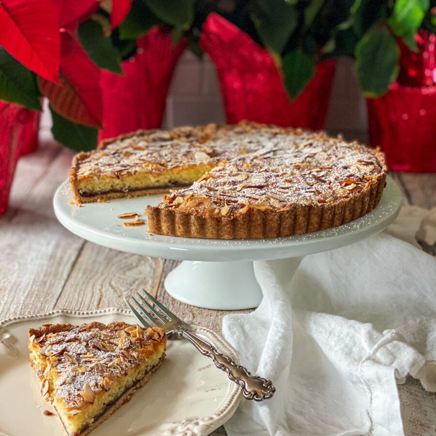 Almond Raspberry Tart