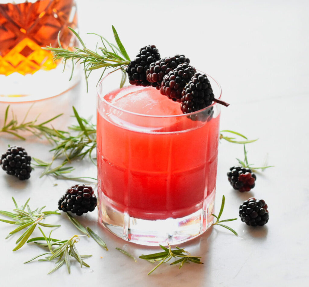 Blackberry Bourbon Sour