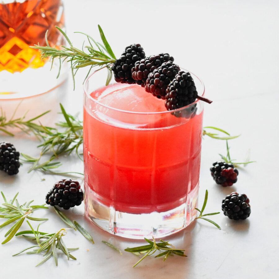 Blackberry Bourbon Sour