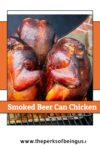 3 smoked beer can chickens