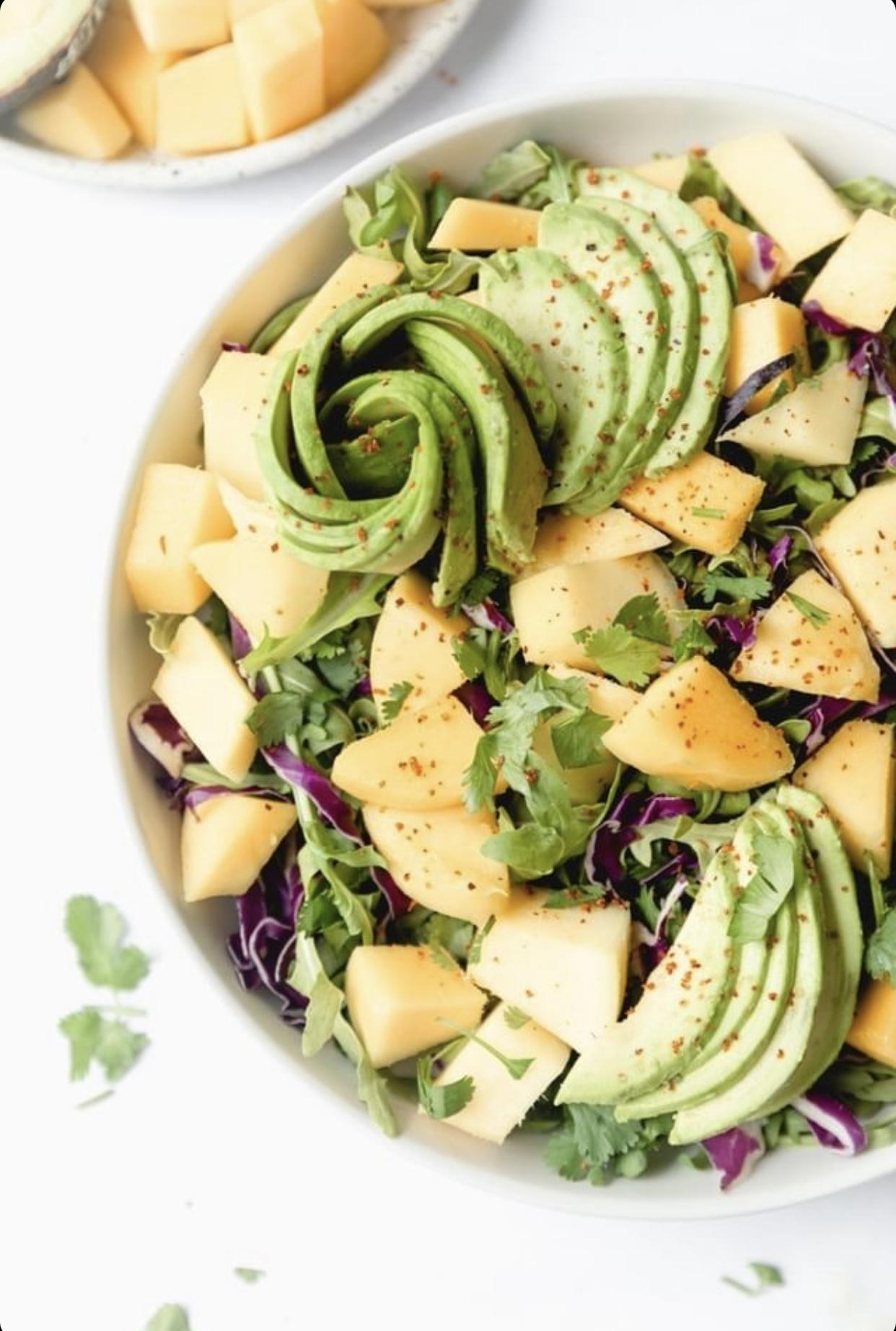 Mango recipes of Avocado Salad